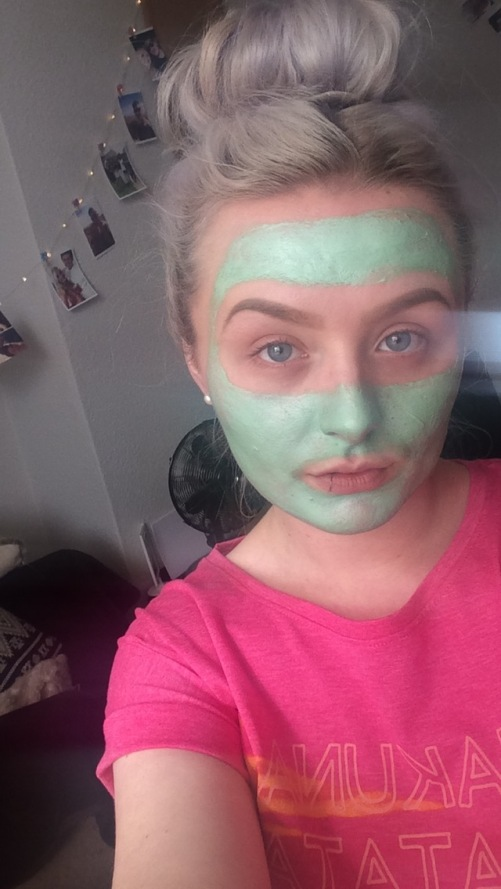 BodyShop tea tree clay mask Wingitwithjade